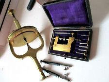 Uhrmacher Nachlass um 1900  alter Uhrmacherwerkzeug originale Stücke vintage