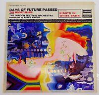 THE MOODY BLUES DAYS OF FUTURE PASSED Vinyl Album LP ORIGINAL 1967