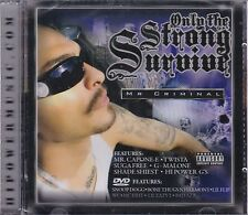Mr Criminal only the Strong Survive CD+DVD  New Sealed