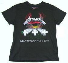 Metallica Master Of Puppets Song List Girls Juniors Grey T Shirt M New Official