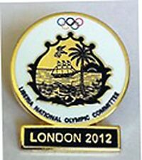 2012 LONDON Olympic LIBERIA NOC Internal team - delegation pin