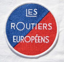 Les routiers europeens Patch Patch 10 cm nuevo (a6.2)