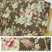 Quilted Floral Chocolate Full Futon Cover 267