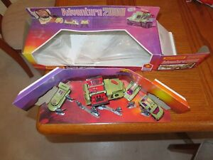 Adventure 2000 Matchbox K-2005 Command Force Complete W/ Box 1978