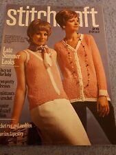 Original Vintage Stitchcraft Magazine August 1970