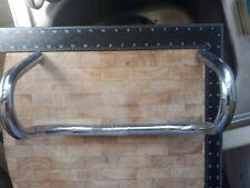 Vintage chromed steel racing bike / drop handlebars