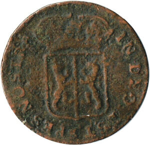 COIN / NETHERLANDS / D. GEL RIAE 1759  #WT3176