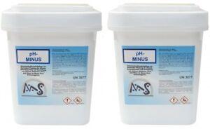 pH - Minus 2 x 7,5 kg Phminus pH - Senker Granulat Pool Wert Senkung Phsenker