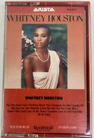 Whitney Houston by Whitney Houston Debut Cassette Tape 1985 Arista Records