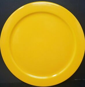 "Vintage Waechtersbach Mustard Yellow Plate 12 "" Made In Germany"