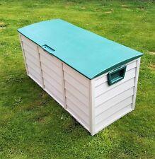Outdoor Garden Storage Box - Plastic Chest 290L