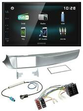 Kenwood Bluetooth 2DIN USB DAB MP3 Autoradio für Alfa Giulietta 05/2010-10/2013