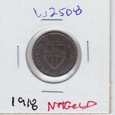 Kappys W2508 1918 Kriegsgeld 10 Pf Germany Emergency Notgeld Iron Coin Currency