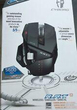 Mad Catz Cyborg R.A.T. 9 Maus 5600dpi WEISS Wireless/Kabellos Defekt>