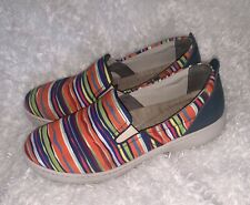 DANSKO Sz 11 EUR 42 Belle Multi-Color Slip On Sneaker Loafer Comfort Shoes