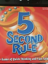 University Games 5 Second Rule Board Game. New