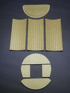 Umlenkstein Faro Umlenkplatte Zugumlenkung Ersatzteil Vermiculite für Justus