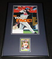 Roberto Alomar Signed Framed 1996 Sports Illustrated Cover Display Orioles