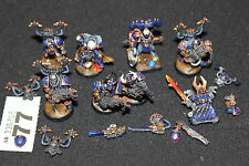 Games Workshop Warhammer 40k Chaos Space Marines Noise Marines Tzeentch Sorcerer