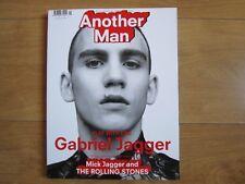 Another Man Magazine Spring / Summer 2016 Gabriel Jagger,Oli Burslem, New.