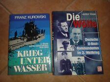 Die Wölfe Deutsche U-Boot Kommandanten im 2. Weltkrieg - 2 Bücher