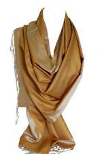 Bufanda de mujer de color principal blanco de seda