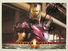 2008 Rittenhouse Iron Man Movie Promo Card P2 JOE QUESADA SIGNED AUTOGRAPH NM!