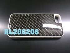 Carbon fiber white case For iphone 5 5S IS350 G37 370Z FRS WRX DC2 DC5 XB CIVIC