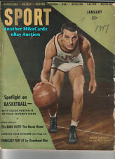 SPORT Magazine (January 1947) ANDY PHILLIP Basketball COVER