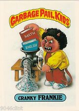 1986 TOPPS GARBAGE PAIL KIDS 1ST SERIES GIANT #18 CRANKY FRANKIE NM CONDITION