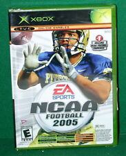 X BOX Live Video Game NCAA Football 2005 New in Sealed Package Online Enabled
