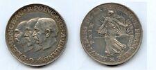 Gertbrolen Module de la  20 Francs en argent   Clémenceau, Poincaré et Briand