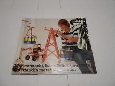 1981 VINTAGE CATALOG #1591 - MARKLIN METALL TOYS