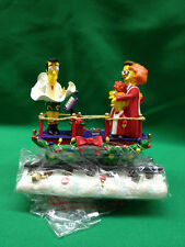 Simpsons Christmas Express Collection A Caroling Surprise Hamilton Flanders