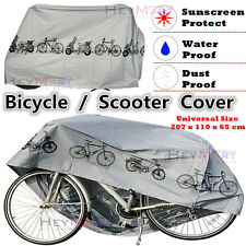 2x Waterproof Rain Dust Cover Outdoor Protector Bike Cover Bicycle Scooter Cover