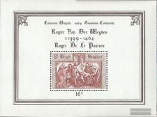 Bélgica Bloque 31 (completa.edición.) nuevo con goma original 1964 cultura
