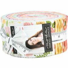 """Moda Jelly Roll Lollipop Garden Lella Boutique 2 1/2"""" Strips 100 Cotton"""