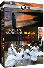 African Americans And Black In Latin America - 4 DISC SET (2015, DVD New)