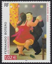 2002 FRANCE N°3482** danseurs Fernando Botero, Tableau FRANCE 2002 Painting MNH
