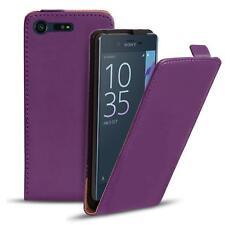 Slim Flip Cover Case Sony Xperia X Compact Schutzhülle Handy Schutz Hülle Tasche