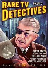 RARE TV Detectives Vol 2 0089218719195 DVD Region 1