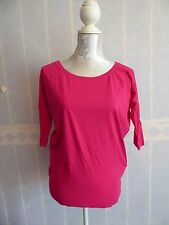 T-shirt rose pimkie manches 3/4, taille S