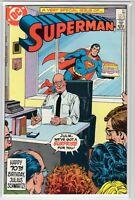 Superman Issue #411 DC Comics (Sept. 1985) VF