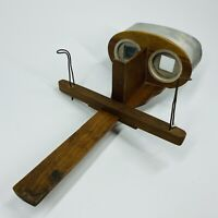 Rare Antique Wood Stereoscope Stereograph Stereo Viewer- Kawin & Co Patent 1902