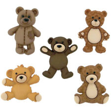 Childrens Buttons - Teddy Bear - Novelty Buttons Cake Decorations Craft Sewing