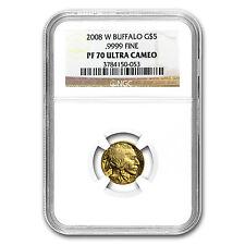2008-W 1/10 oz Proof Gold Buffalo PF-70 NGC - SKU #58921