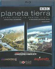 BBC-PLANETA TIERRA-Documentary- Blu Ray Disc