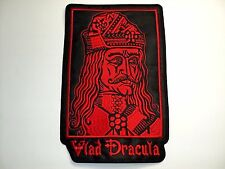 VLAD DRACULA red EMBROIDERED BACK PATCH