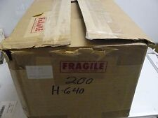 """NEW ALTHOR PRODUCTS H-640 CLEAR HINGED BOX 6"""" LONG X 4"""" WIDE X 1/2 HIGH"""