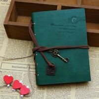 Blank Page Blank Page Leather Bound Diary Journal Notebook Kraft Paper